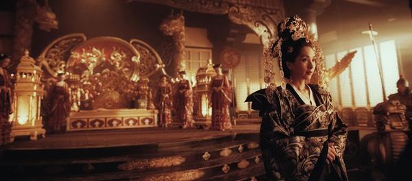 电影狄仁杰之幽冥道杀青杨恭如首次挑战一代女皇武则天